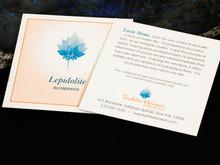 Lepidolite Description Card