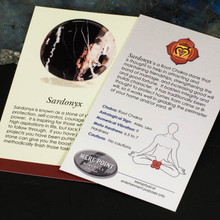 Sardonyx Description Card