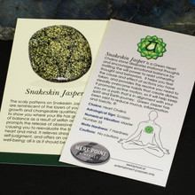 Snakeskin Jasper Description Card
