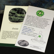 Zoisite Description Card