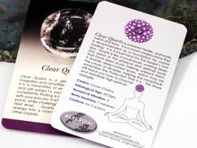 Clear Quartz Description Card