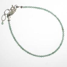 Green Aventurine Facet Bracelet