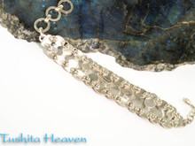 Blue Kyanite Bracelet (Back)