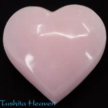 Pink Calcite Heart