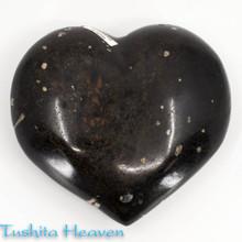 Black Tourmaline Heart