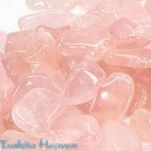 Quartz, Rose Tumbled Stone - Jumbo