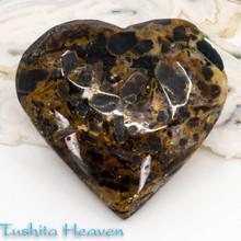 Apatite in Jasper Heart