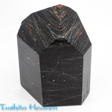 Black Tourmaline & Red Hematite