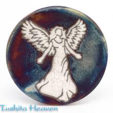 Angel Raku Coaster