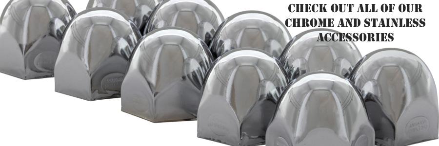 Chrome lug Nut Covers