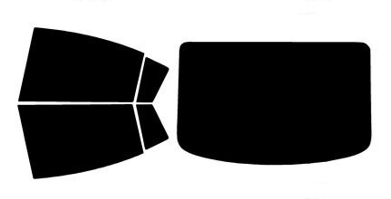 Precut Window Tint For Mazda 3 4 Door 2004-2009 All Windows