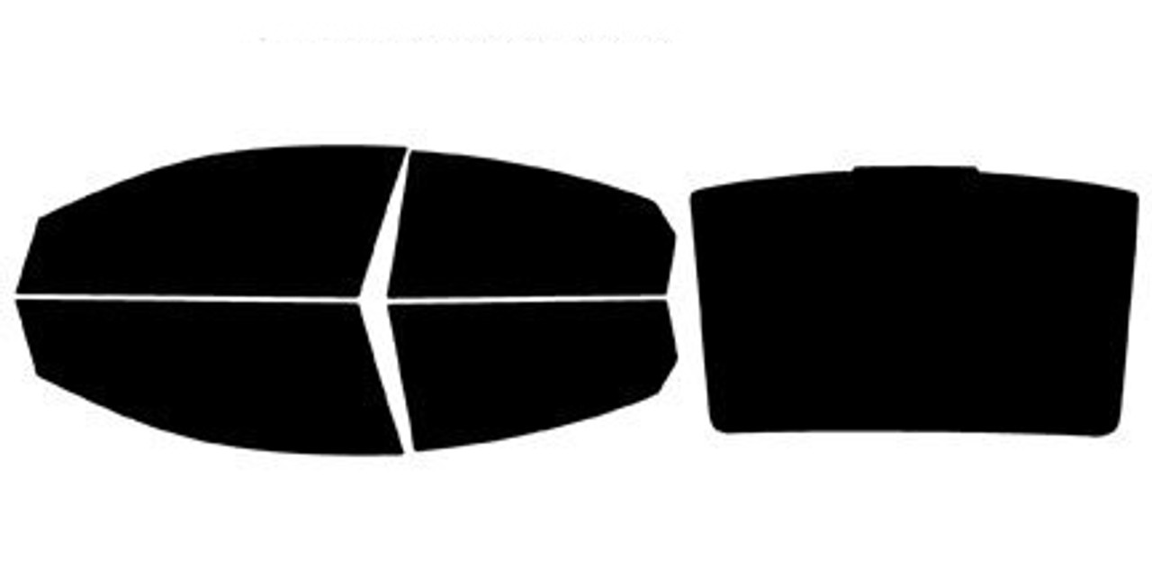 CHEVY Captiva 2006-2011 Rear 20/% Pre Cut Window Tint Dark Film