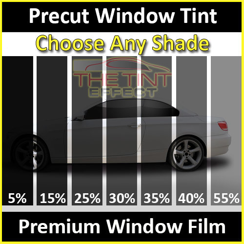 Front Doors Precut Window Tint For Ford F-350 Crew Cab 1998-1999