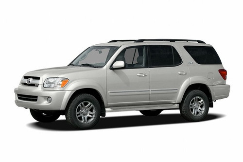 Rear Only Precut Window Tint For Toyota Sequoia 2001-2007
