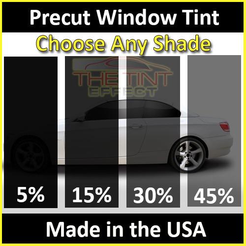 Precut Window Tint Kit Automotive Window Film 2019 /& 2020 Jeep Wrangler JL Hardtop 2-Door Front Includes: Front Door Window precuts in 5/% Fits: 2018