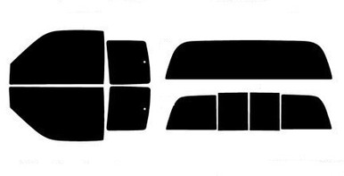 Rear Only Precut Window Tint For Acura Integra 2 Door 1994-2001