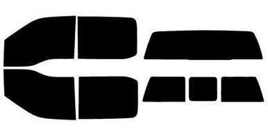 Precut Window Tint for Ford F-250 Standard Cab 13-16 Front Doors Any Shade