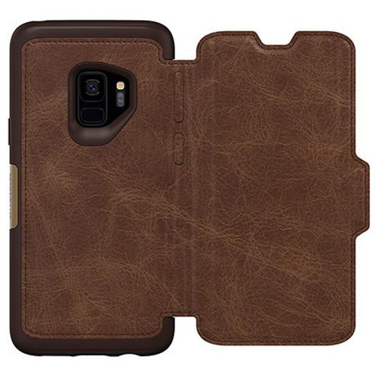 promo code 00d0a 57140 OtterBox Strada Wallet Case for Samsung Galaxy S9 - Espresso