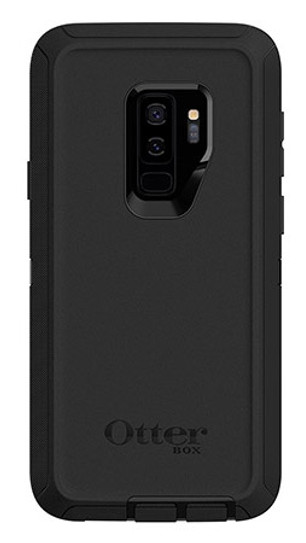 reputable site fb796 e259e OtterBox Defender Case for Samsung Galaxy S9+ Plus - Black