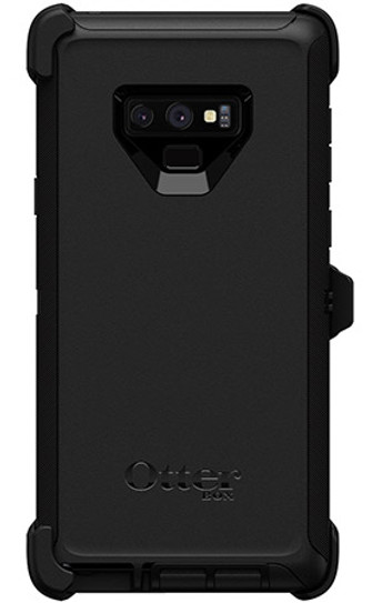 free shipping d3a24 34ec5 OtterBox Defender Case for Samsung Galaxy Note 9 - Black
