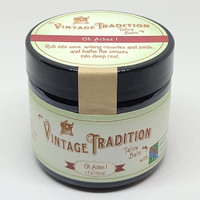 Oh Aches! Tallow Balm with Green Pasture Oils, 2 fl. oz. (59 ml)