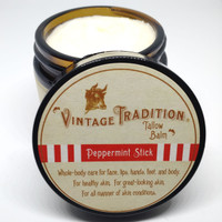 Peppermint Stick Tallow Balm, 2 fl. oz. (59 ml)