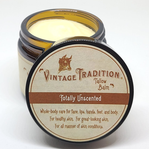 Totally Unscented Tallow Balm, 2 fl. oz. (59 ml)