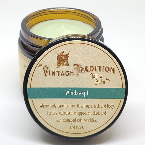 Windswept Tallow Balm, 2 fl. oz. (59 ml) - INSTANT DISCOUNT IN CART