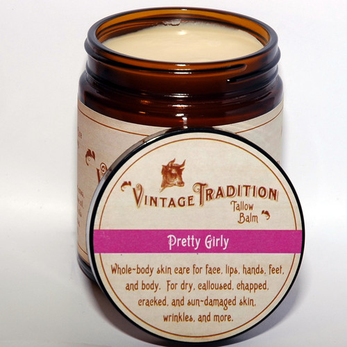 Pretty Girly Tallow Balm, 9 fl. oz. (266 ml)