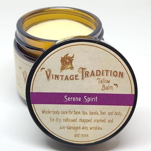 Serene Spirit Tallow Balm, 2 fl. oz. (59 ml) - INSTANT DISCOUNT IN CART