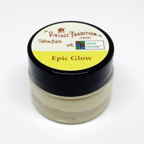 Sample - Epic Glow Tallow Balm with Green Pasture™ Oils, 1/4 fl. oz. (7 ml)