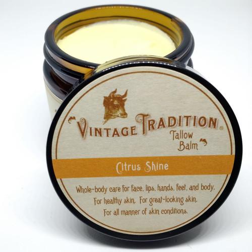 Citrus Shine Tallow Balm, 2 fl. oz. (59 ml)