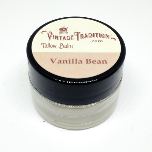Sample - Vanilla Bean Tallow Balm, 1/4 fl. oz. (7 ml)