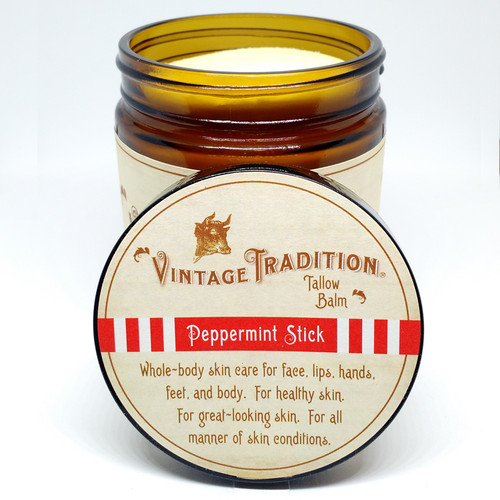 Peppermint Stick Tallow Balm, 9 fl. oz. (266 ml)