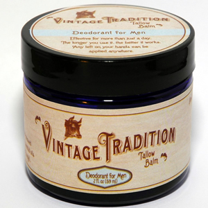 Improved! - Deodorant Tallow Balm for Men