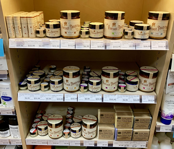 Retail Stores where Vintage Tradition Tallow Balm products can be found