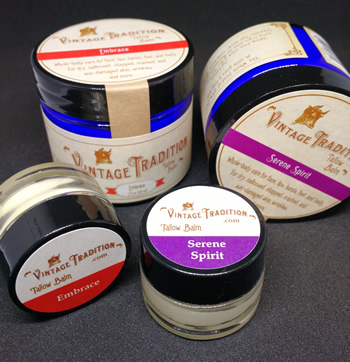Two New Exquisite Scents of Tallow Balm, The Whole Food of Skin Care