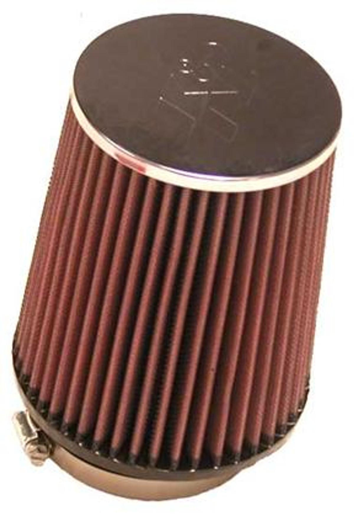 Premium RC-9510 Shape: Round Tapered K/&N Universal Clamp-On Air Filter: High Performance Replacement Engine Filter: Flange Diameter: 2.5 In Flange Length: 0.75 In Filter Height: 5.9375 In