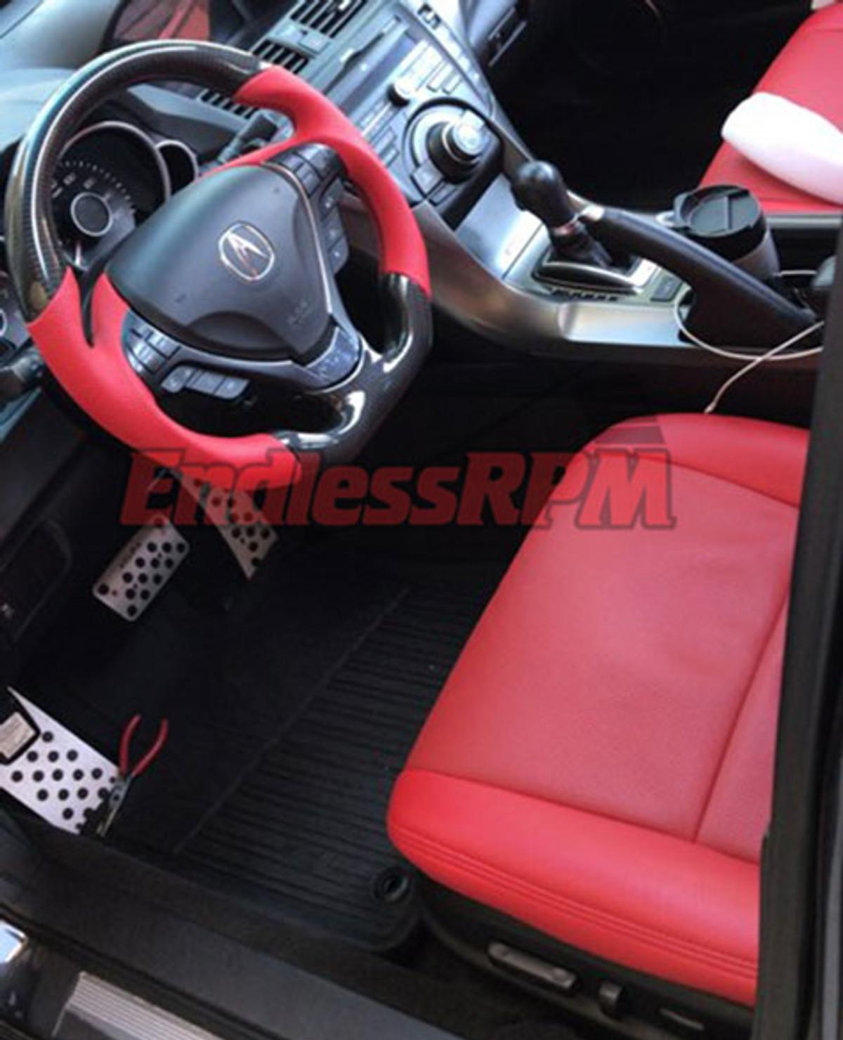 Custom Acura Tl Steering Wheel Carbon Fiber And Woodgrain