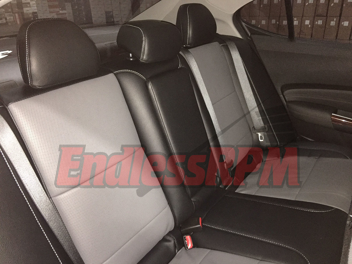 ACURA TSX 2004-2008 LEATHER-LIKE CUSTOM FIT SEAT COVER