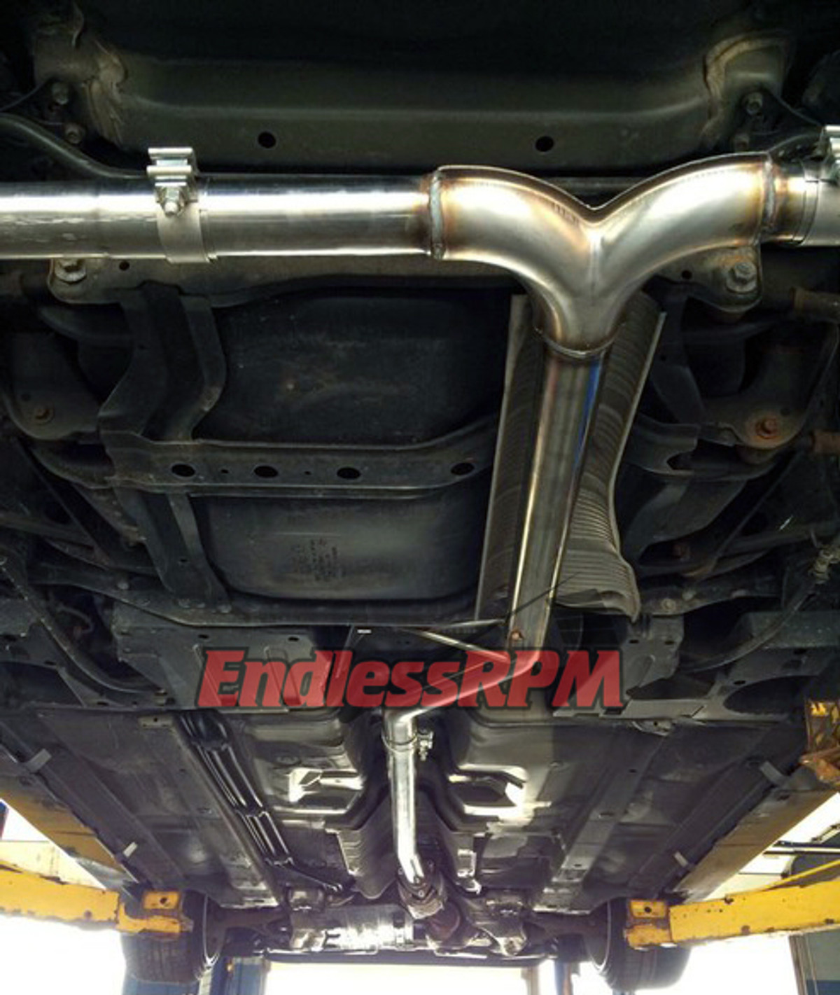 Endlessrpm 04 08 Acura Tl Performance Catback Exhaust System Single Tips