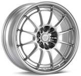 Enkei NT03 17x7.5 4x100 45mm Offset 72.6mm Bore Silver Wheel