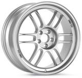 Enkei RPF1 17x9.5 5x114.3 18mm Offset 73mm Bore Silver Wheel