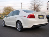 Acura TL OEM ASpec sides, side Underspoiler 04-08 (base+type-s)