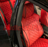 Lexus IS Diamond Pattern Seat Replacements - Custom color 2014-2019