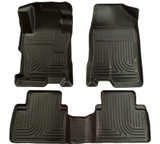 Husky Liners 2012 Honda Civic WeatherBeater Combo Black Floor Liners-Sedan only