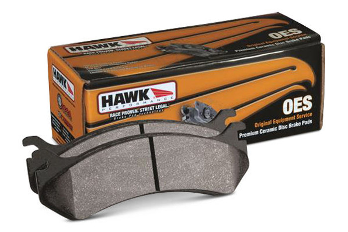 Hawk OES Street Rear Brake Pads