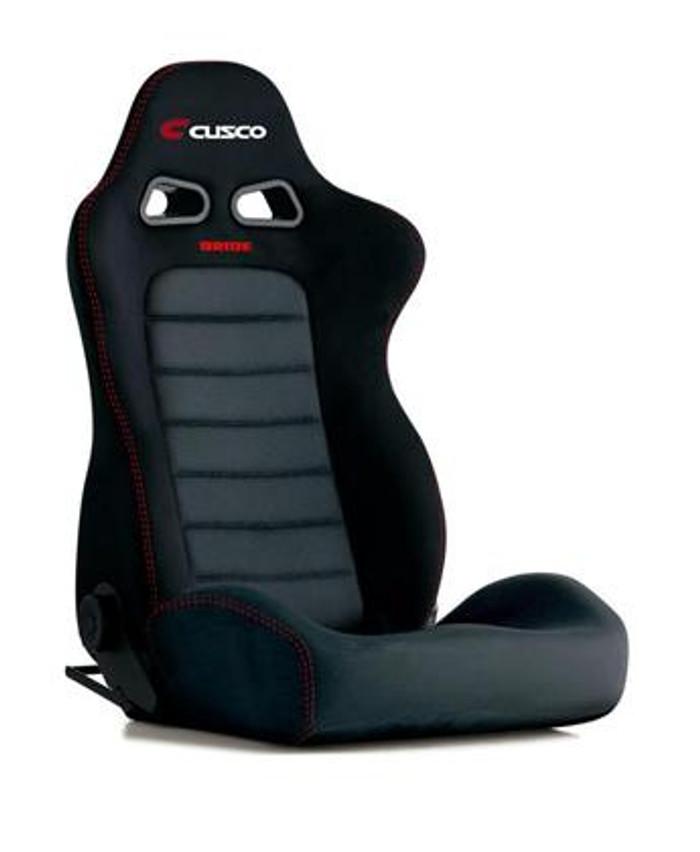Bride Cusco Euro II+C Black Suede w/ Dark Grey Mesh Seat