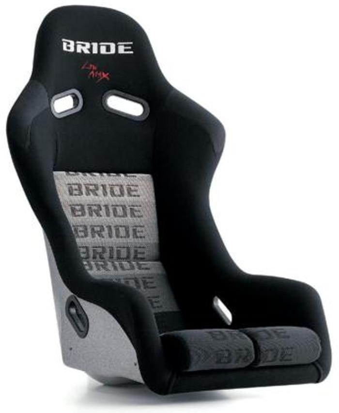 Bride Cusco Vios III+C FRP - Silver / Black Suede Seat