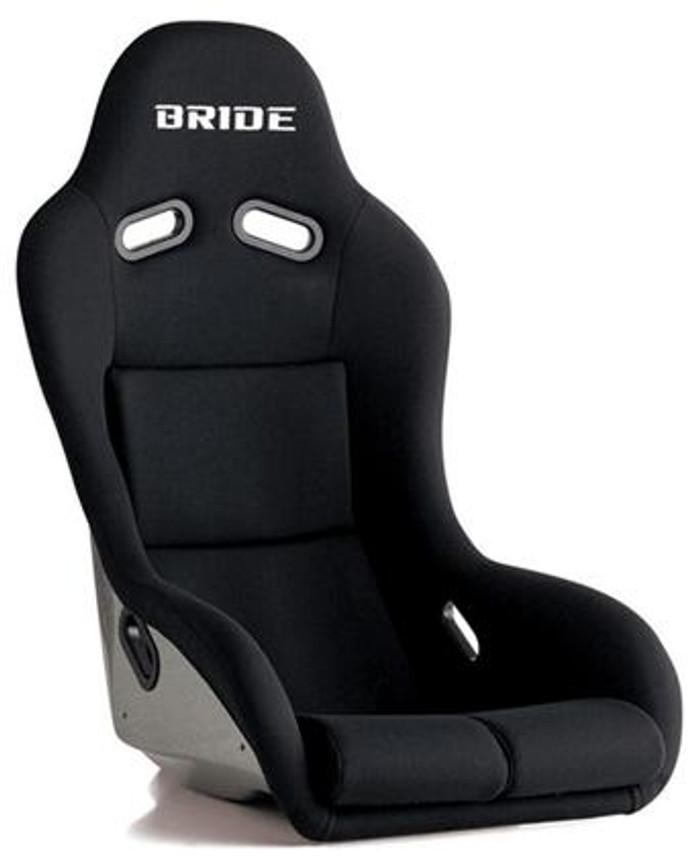Bride Cusco Zeta III+C Type-XL FRP - Silver / Black Suede Seat